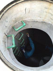 南水北调(阀井内壁钢筋保护层厚度检测)