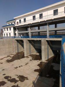 陶花店水库原材、基桩、金属结构检测